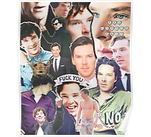 benedict collage Poster