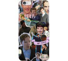 Benedict Cumberbatch collage iPhone Case/Skin