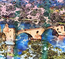 Pont Saint-Bénezet by GryffinDesigns
