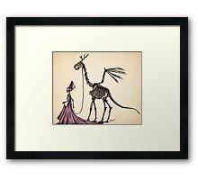 Princess & Pet Framed Print