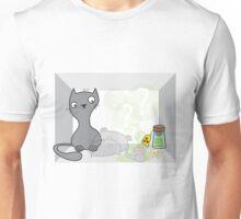 Schrödinger's cat is.... alive Unisex T-Shirt