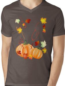 Fall Is Here Mens V-Neck T-Shirt