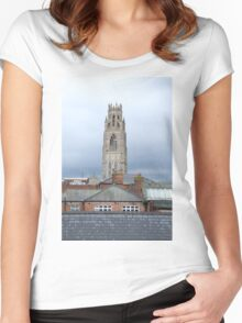Boston Life Women's Fitted Scoop T-Shirt