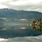 Early morning in Ulvik - Norway by Arie Koene