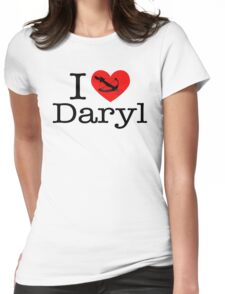 I Love Daryl Womens Fitted T-Shirt