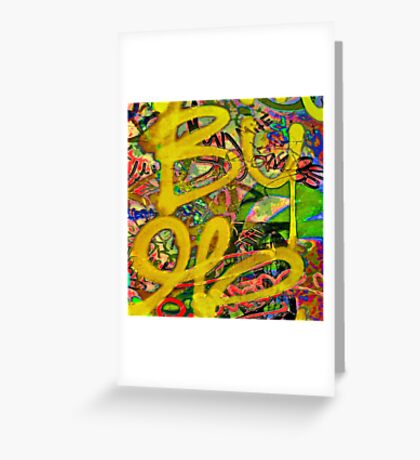 Graffiti #7b Greeting Card