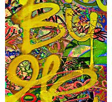 Graffiti #7b Photographic Print