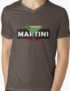 Martini Drink Mens V-Neck T-Shirt