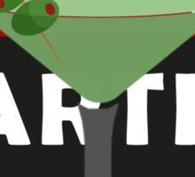 Martini Drink Sticker
