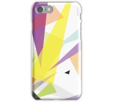Yellow and pink - abstract case design iPhone Case/Skin
