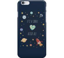 It's a small world after all! iPhone Case/Skin