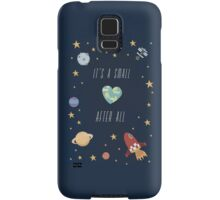 It's a small world after all! Samsung Galaxy Case/Skin