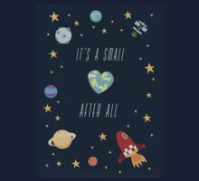 It's a small world after all! One Piece - Short Sleeve