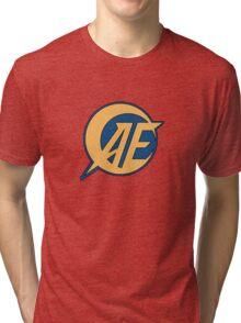 Anaheim Electronics - Main Logo [AE] Tri-blend T-Shirt