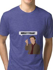 Gabriel alternata shirt and stickers Tri-blend T-Shirt