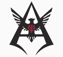 Char Aznable - Personal Insignia BLACK by UndeadWraith