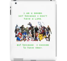 I am a GAMER iPad Case/Skin