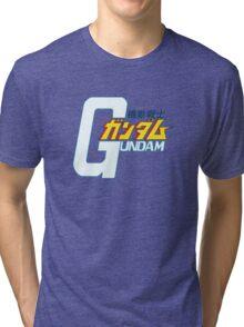 Gundam Orignial - Title Logo JP Tri-blend T-Shirt