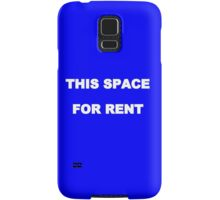 This space for rent iphone case Samsung Galaxy Case/Skin