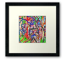 Graffiti #9c Framed Print