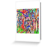 Graffiti #9c Greeting Card