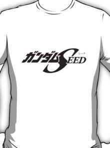 Gundam Seed - Title Logo JP T-Shirt