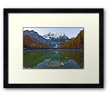 Pearl Lake Framed Print