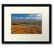 Rainbow Beach Framed Print