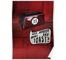 Talkie Toaster Poster