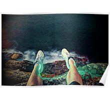 Lightfoot on the rocks Poster