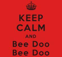 Keep Calm and Bee Doo Bee Doo Kids Clothes