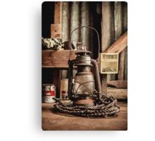 Vintage Lantern Canvas Print