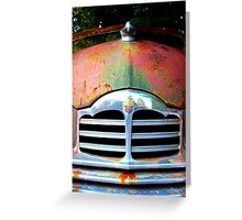 Packard Grill Greeting Card