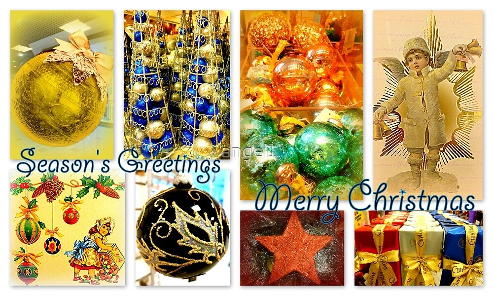 Season's Greetings ~ Merry Christmas by ©The Creative  Minds