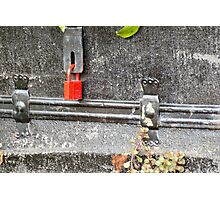 Under lock and key Photographic Print