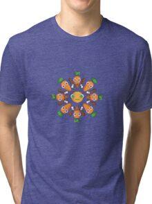 Happy Carrots Dance Tri-blend T-Shirt