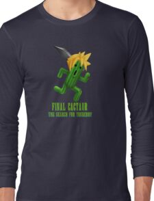 Final Cactuar: The Search for Tonberry Long Sleeve T-Shirt