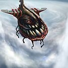 """Fly 1: The """"eye"""" of the storm by Tom Godfrey"""