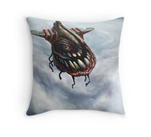 """Fly 1: The """"eye"""" of the storm Throw Pillow"""
