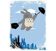 Totoro Poppins Photographic Print
