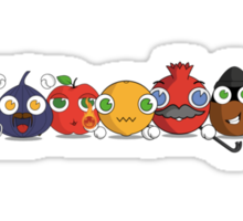 Fruitcraft heroes Sticker