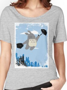 Totoro Poppins Women's Relaxed Fit T-Shirt