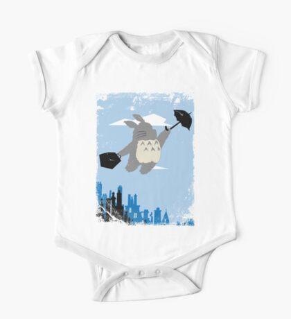Totoro Poppins One Piece - Short Sleeve