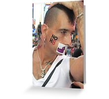 No hate! Greeting Card