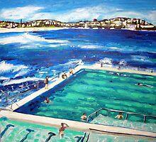 Bondi Icebergs Summer by gillsart
