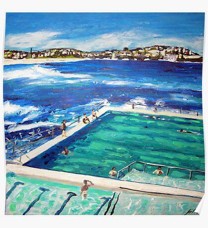 Bondi Icebergs Summer Poster