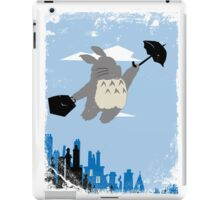 Totoro Poppins iPad Case/Skin