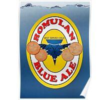Romulan Blue Ale Poster