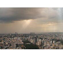 Saigon Storm  Photographic Print