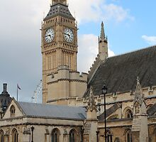 Big Ben and Houses of Parliament by corrado